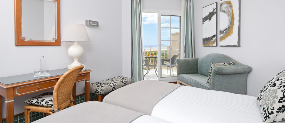 Junior suite Lujo del hotel Meliá Atlántico Isla Canela