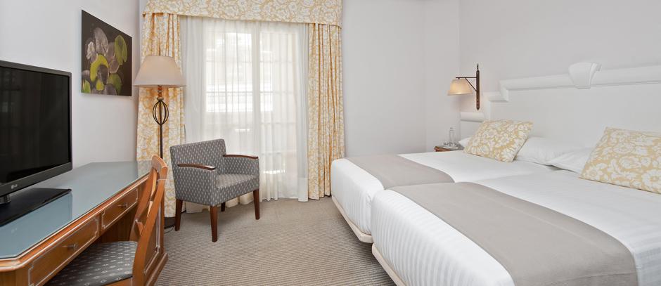 Habitación Doble Meliá vista mar del hotel Meliá Atlántico Isla Canela