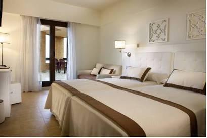 Habitación doble dos camas separadas del hotel Iberostar Isla Canela