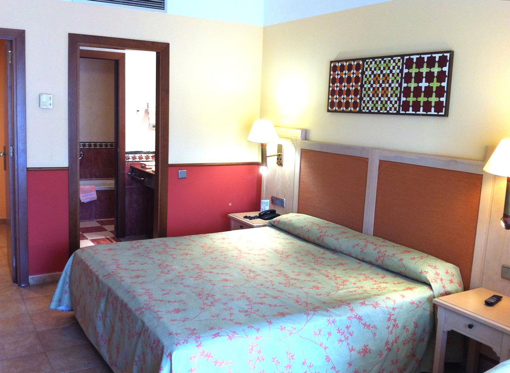 Habitación individual  del hotel Playacanela