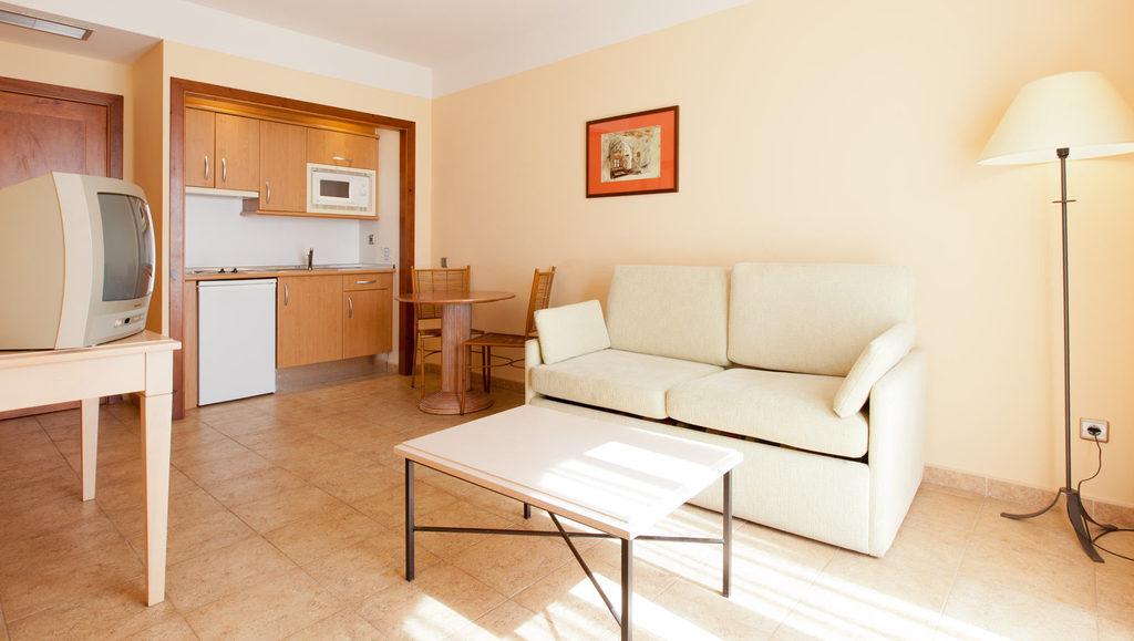 Apartamento 1 dormitorio  del hotel Playacanela