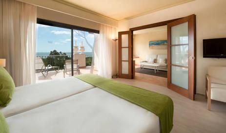 Suite  del hotel Sensimar Isla Cristina Palace Hotel & Spa. Foto 2