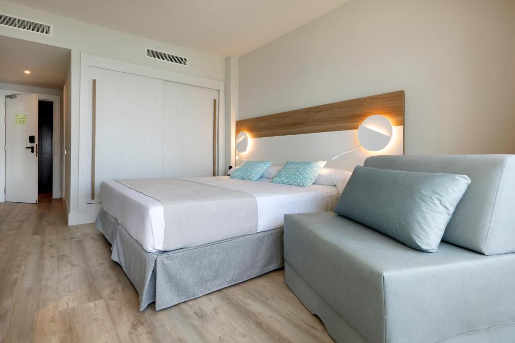 Habitación doble  del hotel Playabonita