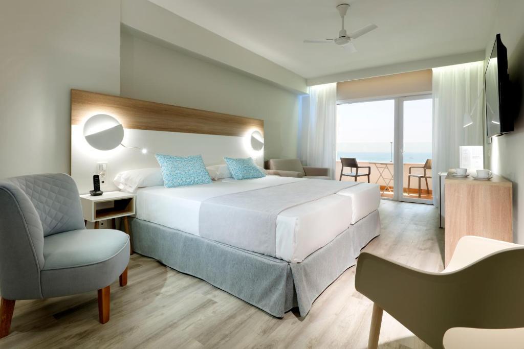 Habitación doble Vista Mar Frontal del hotel Playabonita
