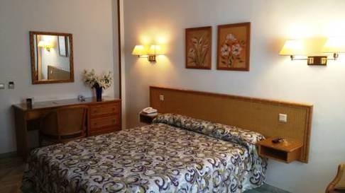 Habitación doble  del hotel Las Rampas