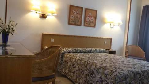Habitación doble  del hotel Las Rampas. Foto 1