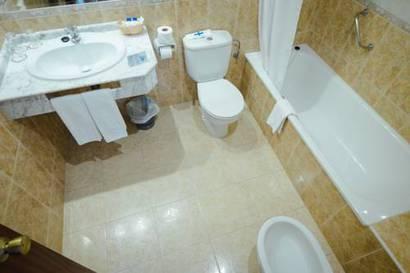 Habitación doble  del hotel Las Rampas. Foto 2