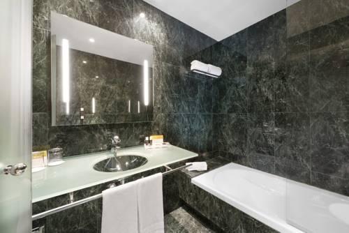Habitación doble  del hotel Exe Cuenca