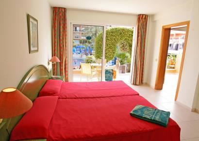 Habitación familiar Vista Piscina del hotel Dunas Mirador Maspalomas