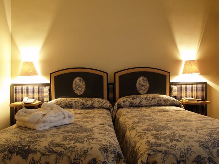 Habitación doble dos camas separadas del hotel Macia Condor