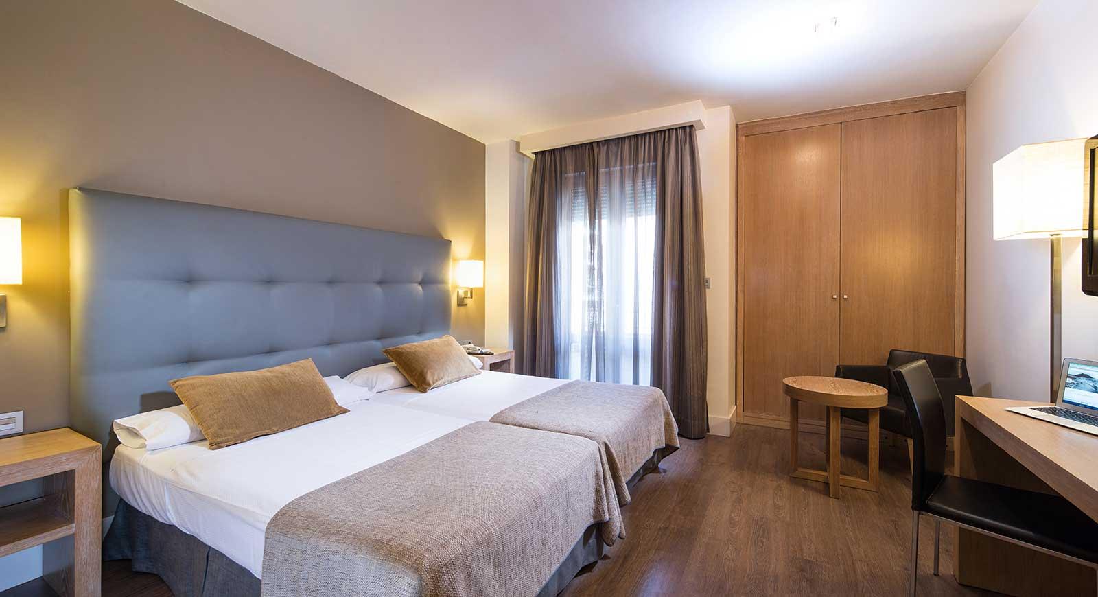 Habitación doble Superior dos camas separadas del hotel Barceló Carmen