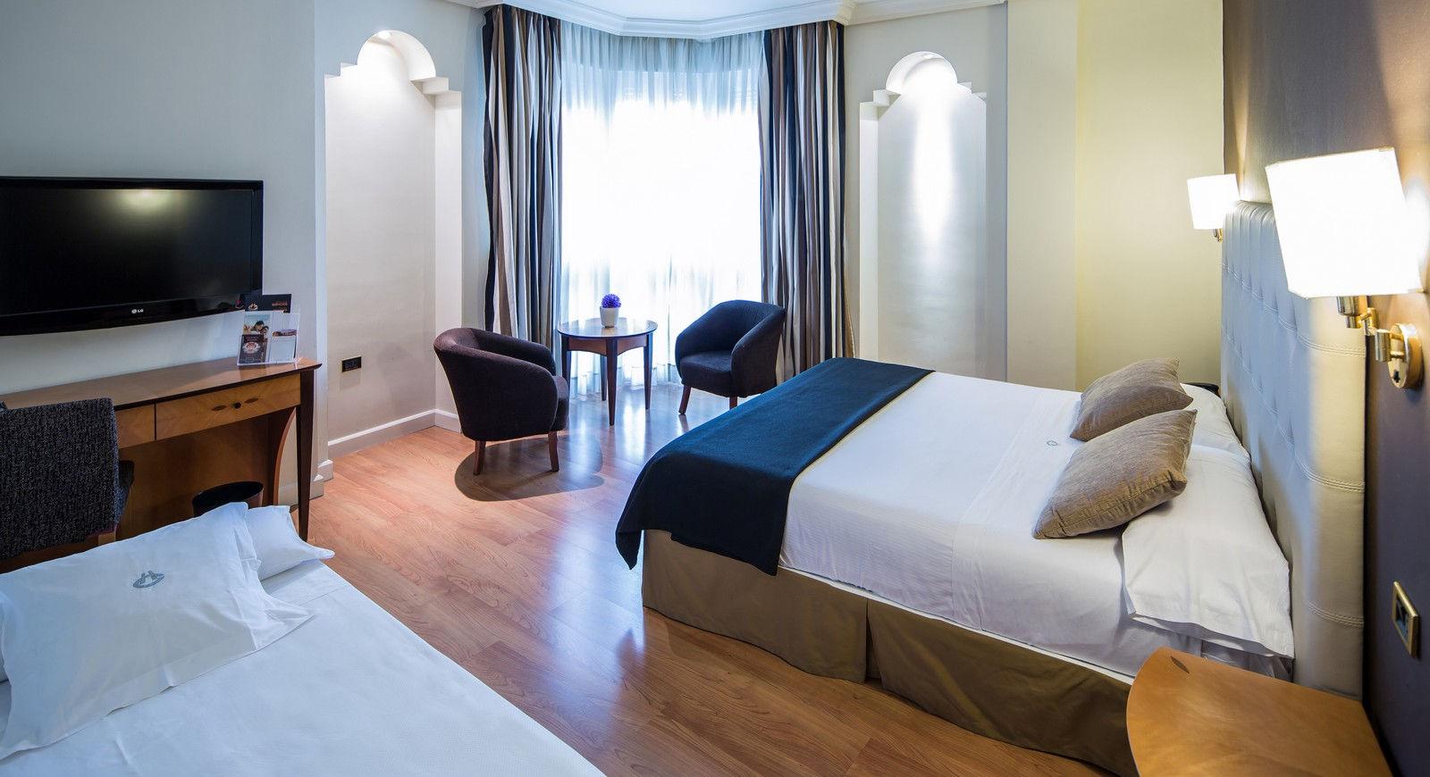 Habitación familiar  del hotel Barceló Carmen