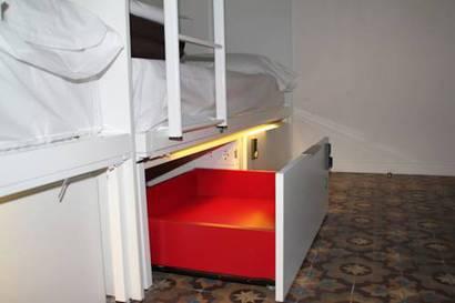 Habitación individual  del hotel Urbany Bcngo