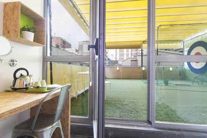 Habitación doble  del hotel Urbany Bcngo. Foto 1