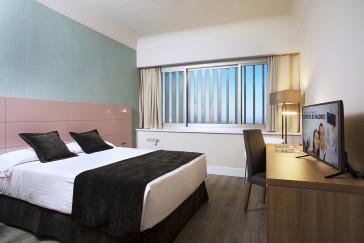 Habitación doble  del hotel Weare Chamartin