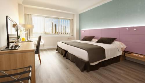 Habitación doble dos camas separadas del hotel Weare Chamartin