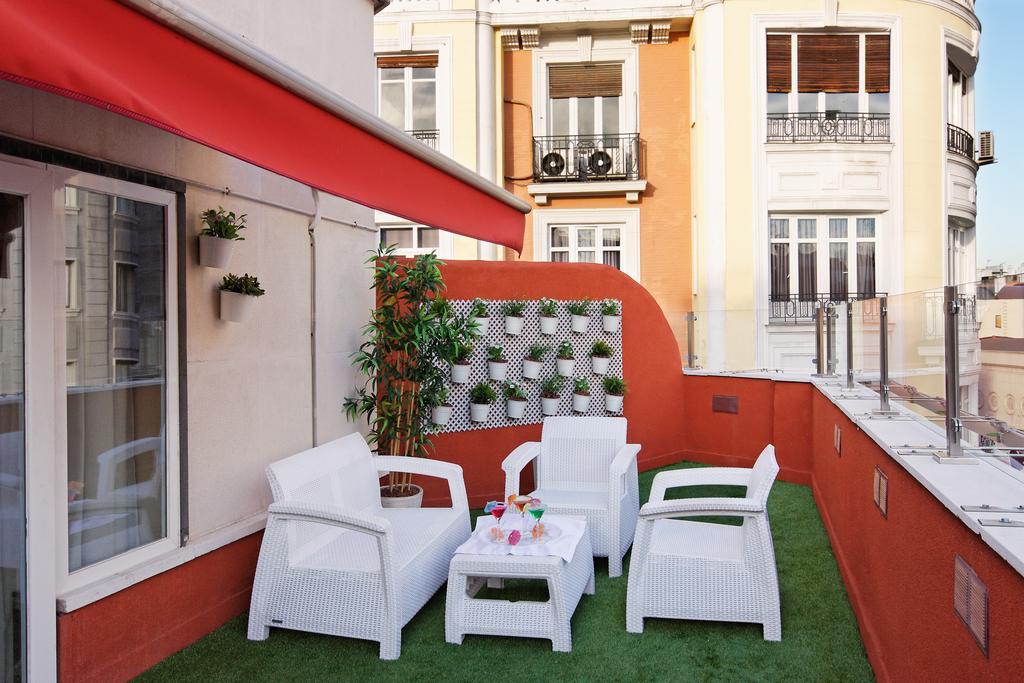 Habitación doble Terraza del hotel Mayorazgo