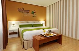 Habitación doble Temática dos camas separadas del hotel Mayorazgo
