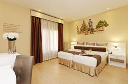 Habitación doble Temática dos camas separadas del hotel Mayorazgo. Foto 1