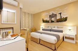 Habitación doble Temática dos camas separadas del hotel Mayorazgo. Foto 2