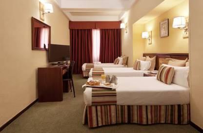 Habitación triple  del hotel Mayorazgo