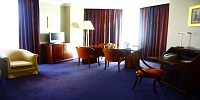 Junior suite  del hotel Holiday Inn Madrid Bernabeu