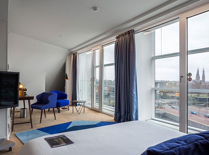 Habitación doble Ejecutiva del hotel Room Mate Aitana