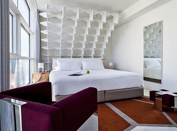 Junior suite  del hotel Room Mate Aitana. Foto 1