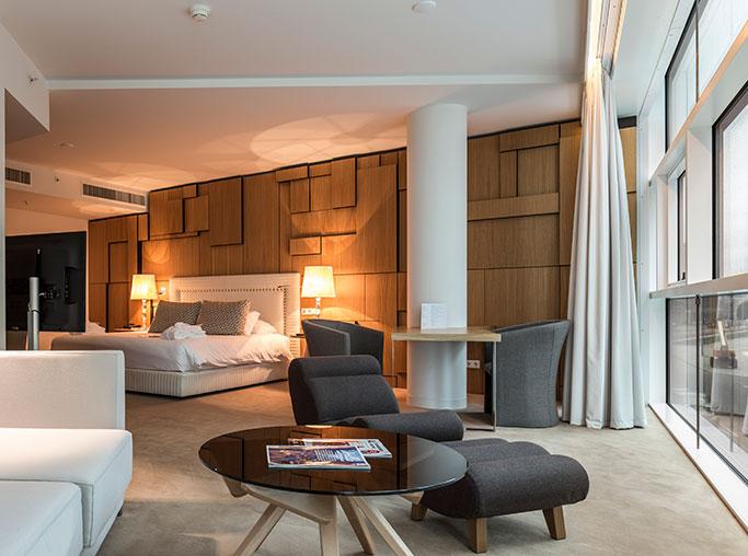 Suite King del hotel Room Mate Aitana