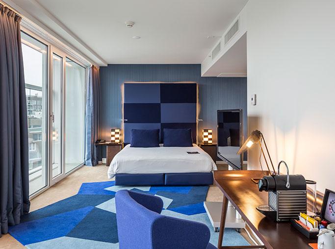 Habitación doble Ejecutiva del hotel Room Mate Aitana. Foto 1