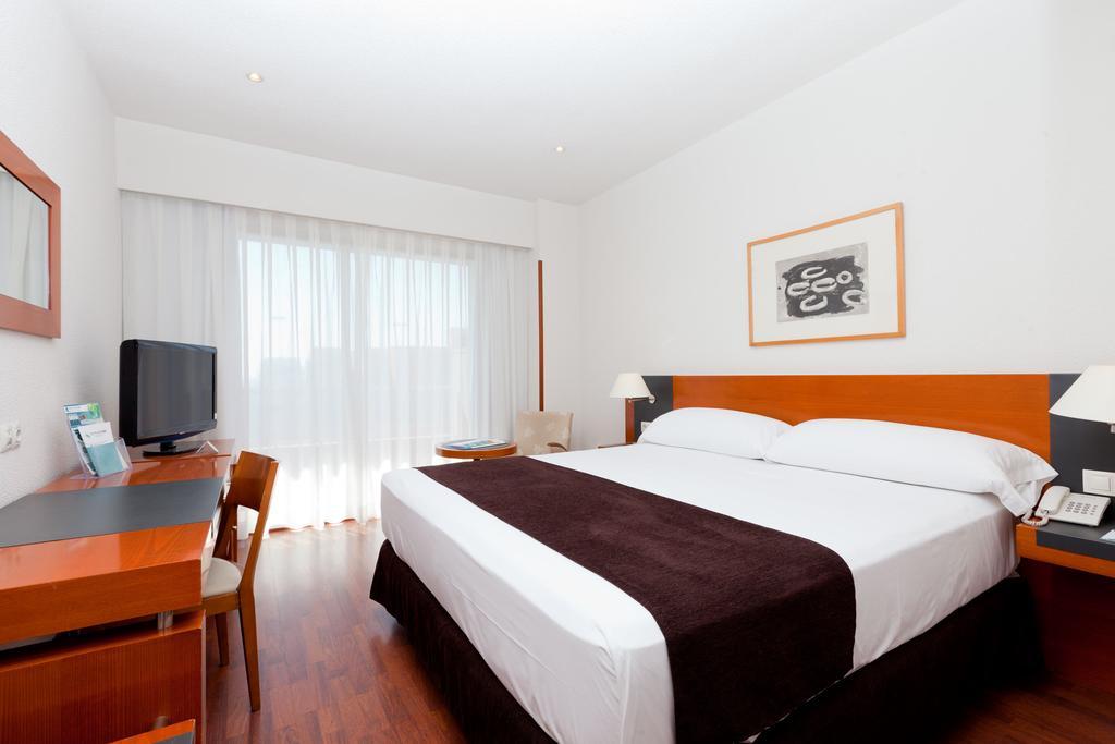 Habitación doble  del hotel Senator Barajas