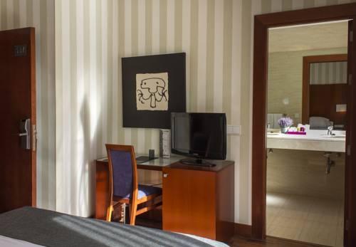 Habitación doble Terraza del hotel Zenit Malaga. Foto 2