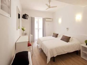 Habitación doble dos camas separadas del hotel whala!Beach. Foto 1