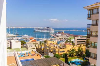 Habitación doble Vista Mar del hotel Amic Horizonte. Foto 1