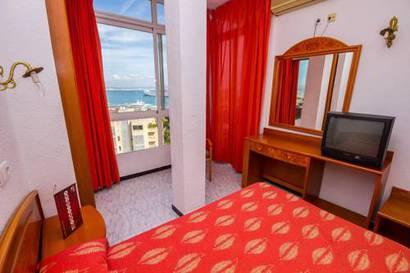 Habitación individual Vista Mar del hotel Amic Horizonte. Foto 3