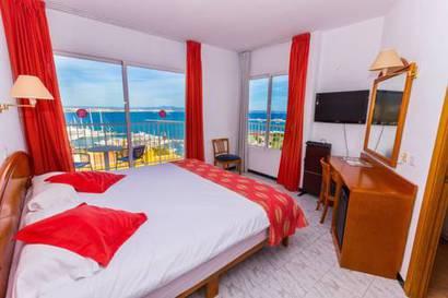 Junior suite Vista Mar del hotel Amic Horizonte. Foto 2