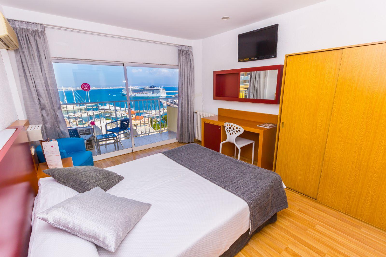 Habitación individual Vista Mar Superior del hotel Amic Horizonte