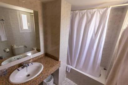 Habitación individual  del hotel Amic Horizonte