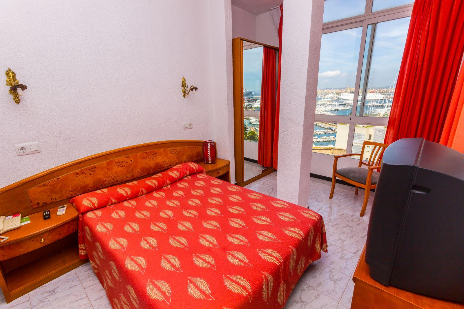 Habitación individual  del hotel Amic Horizonte. Foto 2