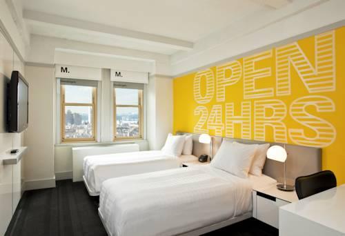 Habitación doble Superior dos camas separadas del hotel Row NYC. Foto 1
