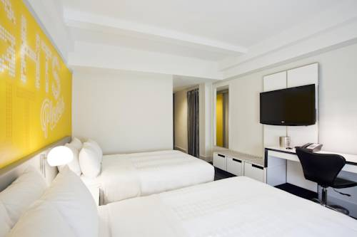 Habitación doble Superior 2 Camas de Matrimonio del hotel Row NYC. Foto 3