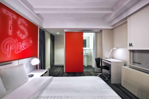 Habitación doble Vista ciudad Premium del hotel Row NYC. Foto 1