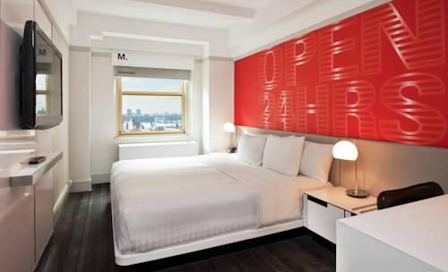 Habitación doble Lujo Vista ciudad del hotel Row NYC. Foto 1