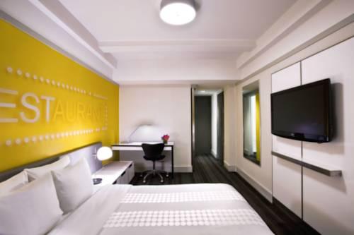 Habitación doble Lujo Vista ciudad del hotel Row NYC. Foto 2