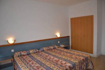 Habitación doble  del hotel Brisamar Suites