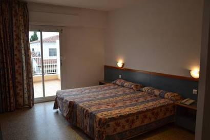 Habitación doble Terraza del hotel Brisamar Suites