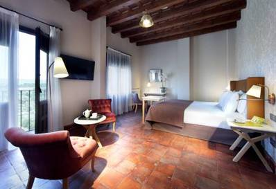 Habitación doble  del hotel Exe Casa de Los Linajes