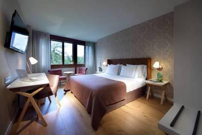 Habitación individual  del hotel Exe Casa de Los Linajes. Foto 2