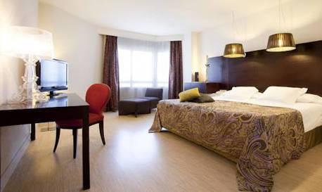 Junior suite  del hotel Hesperia Sevilla
