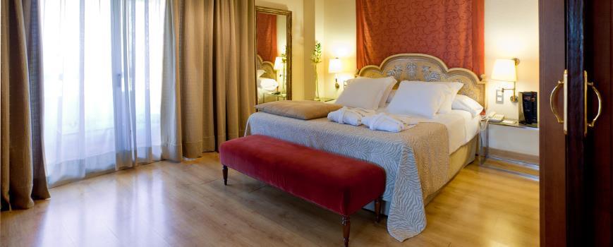 Suite  del hotel Hesperia Sevilla